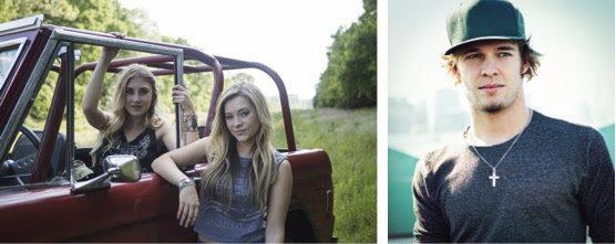 Pictured (L-R): Maddie & Tae, Tucker Beathard