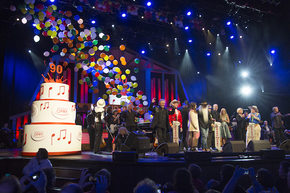 Grand Ole Opry celebrates 90th anniversary. Photo: Chris Hollo