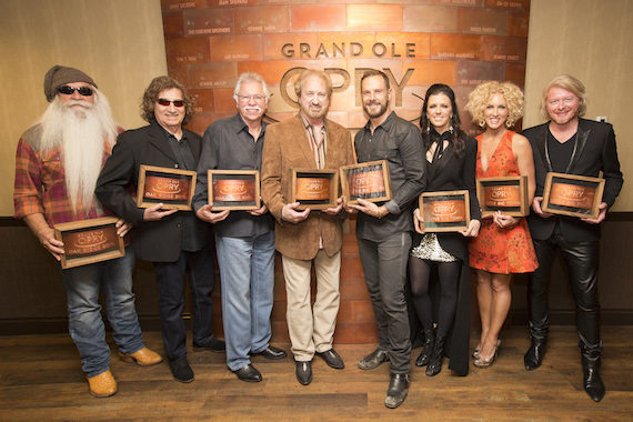 The Oak Ridge Boys with Little Big Town. Photo: Chris Hollo
