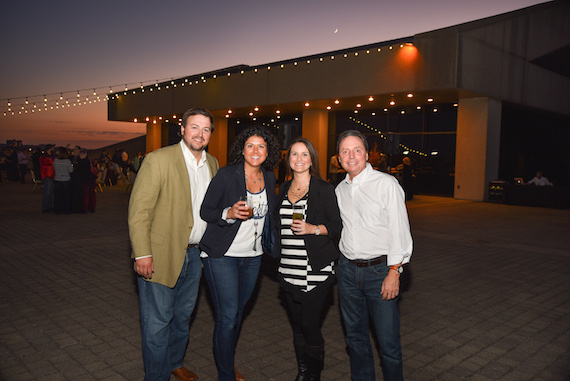 Pictured (L-R): BMI's Mason Hunter, Diageo's Allison Ferreira, George Dickel Master Distiller Allisa Henley and BMI's Jody Williams.