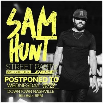 Sam Hunt street party