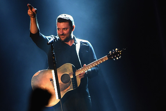 Chris Young headlines hometown show at Nashville, Ascend Amphitheater on September 30, 2015