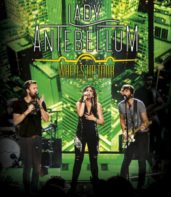 Lady Antebellum's Wheels Up DVD
