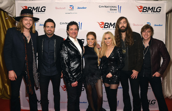 Big Machine Label Group Celebrates The 49th Annual CMA Awards in Nashville - Arrivals