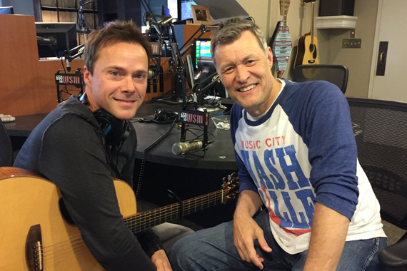 Pictured (L-R): Bryan White, Bill Cody.
