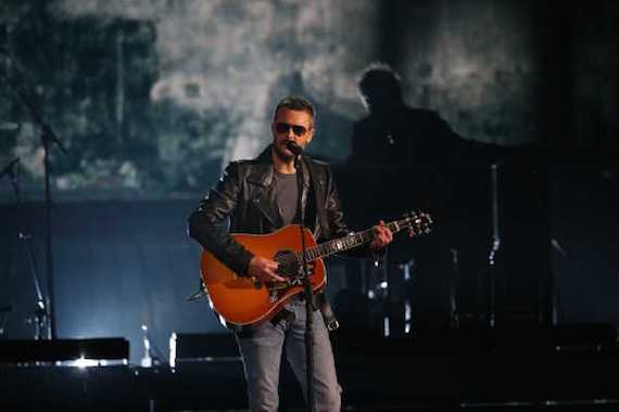 "Eric Church performed ""Mr. Misunderstood"" during the CMA Awards. Photo: CMA"