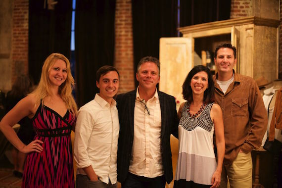 Pictured (L-R):  Ashley Embry, Creative Manager, Hearts Bluff Music; Tyler Sutphen, Communication Manager, Hearts Bluff Music; Scott Parker, President, Hearts Bluff Music; Karen Lawrence, Royalty Analyst, Hearts Bluff Music; Richard Rose, Copyright Cafe.