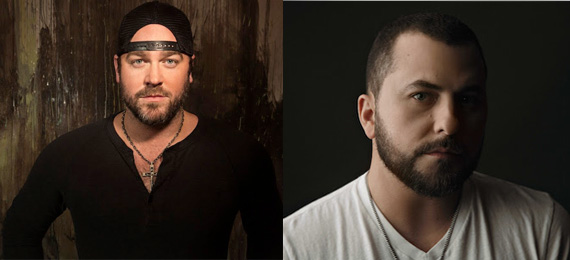 Pictured (L-R): Lee Brice, Tyler Farr.