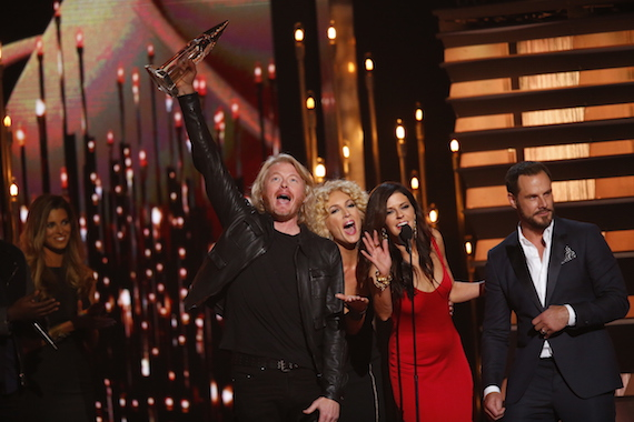 Little Big Town wins Vocal Group of the Year. Photo: CMA