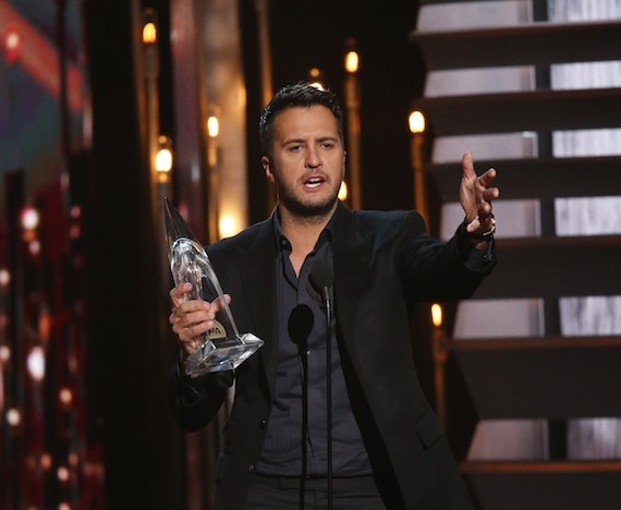 Luke Bryan. Photo: Donn Jones/CMA