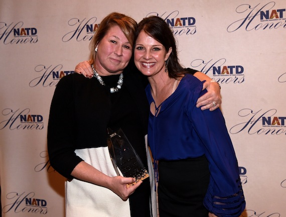 Pictured (L-R): Sarah Trahern, CEO of CMA; Nan Kelley. Photo: Rick Diamond/Getty Images of NATD