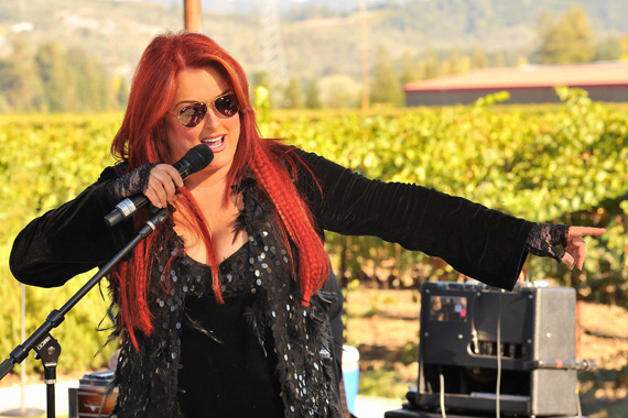 Wynonna performs with The Big Noise. Photo: Steve Jennings