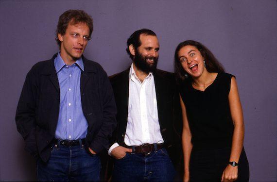 Pictured (L-R): Bill Nowlin, Ken Irwin, Marian Leighton-Levy