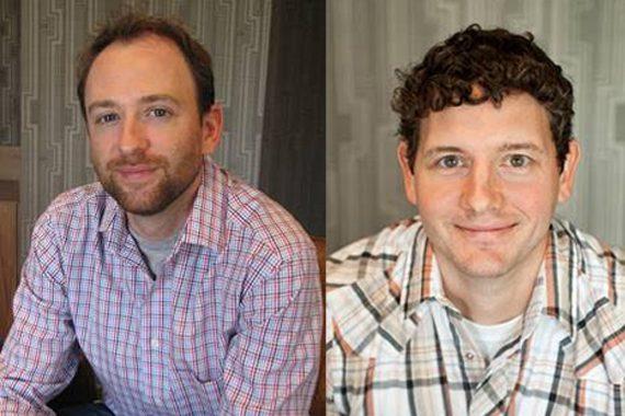 Pictured (L-R): Chris Parton, Jim Casey