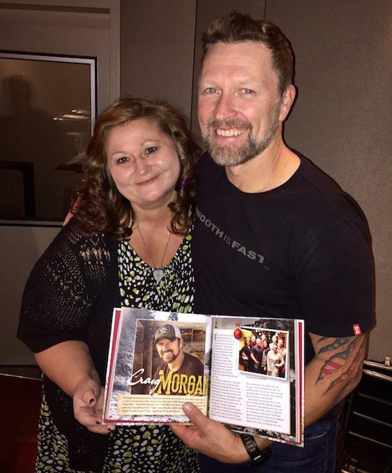 Pictured (L-R): Deborah Evans Price and Craig Morgan