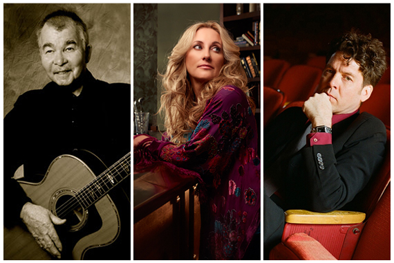Pictured (L-R): John Prine, Lee Ann Womack, Joe Henry.
