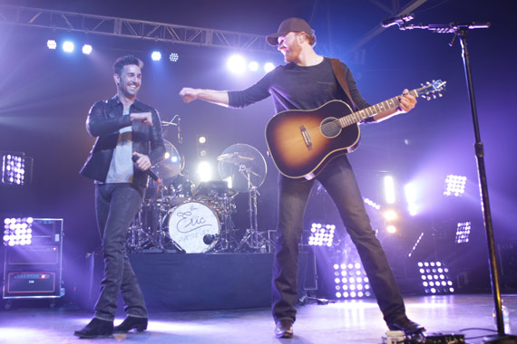 Jake Owen, Eric Paslay. Photo: Annelise Blackwood