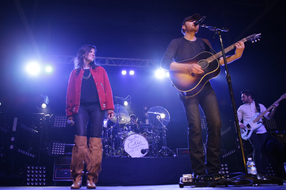 Karen Fairchild, Eric Paslay. Photo: Annelise Blackwood