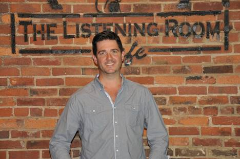 Chris Blair, owner of The Listening Room.