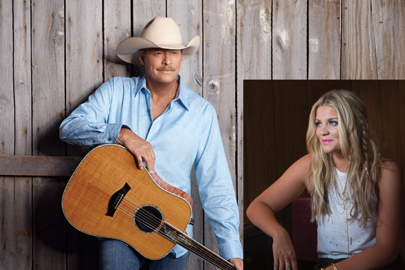 Alan Jackson photo: Kristy Belcher; Lauren Alaina photo: Joseph Llanes