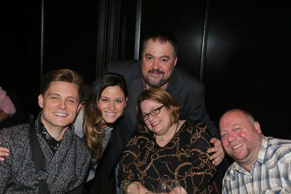 Pictured (L-R): Frankie Ballard, Anna Cage (Regional Promotion Manager), Chris Palmer (VP Promotion), Wendy Lynn (WYRK/Buffalo) and Dean Sarago (WYRK/Buffalo).