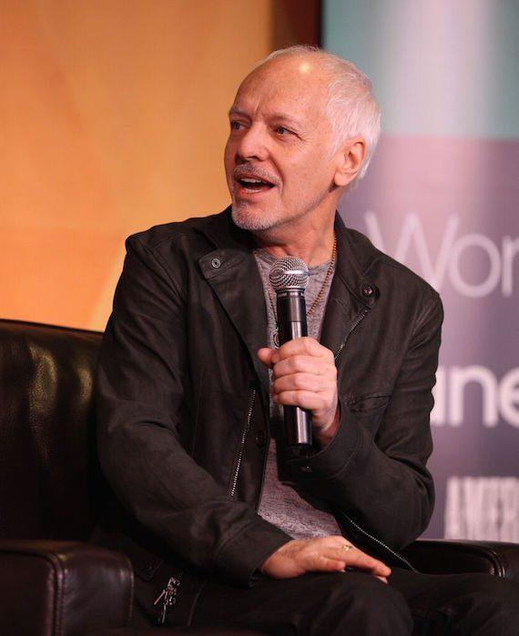 Peter Frampton speaks during Nashville Indie Artist