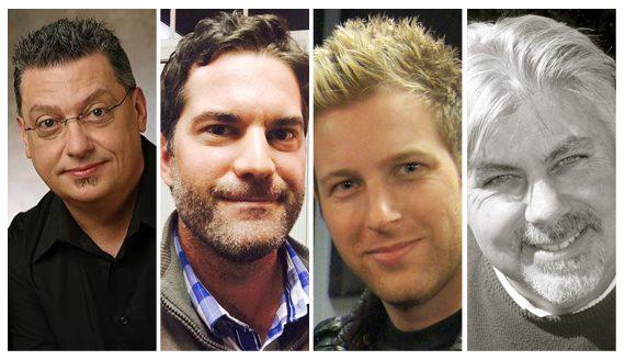 PIctured (L-R): Bob Reeves, Glenn Noblit, Tyler Waugh, Paul Williams