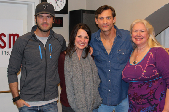Pictured (L-R): Chuck Wicks, Nan Kelley, Wade Hayes, Devon O'Day