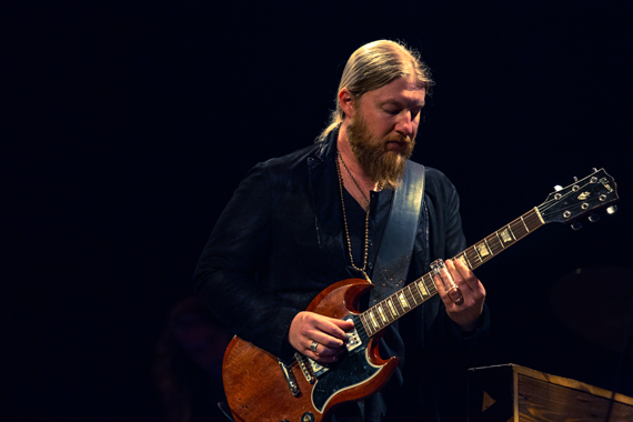 Derek Trucks. Photo: chadcrawfordphotography.com