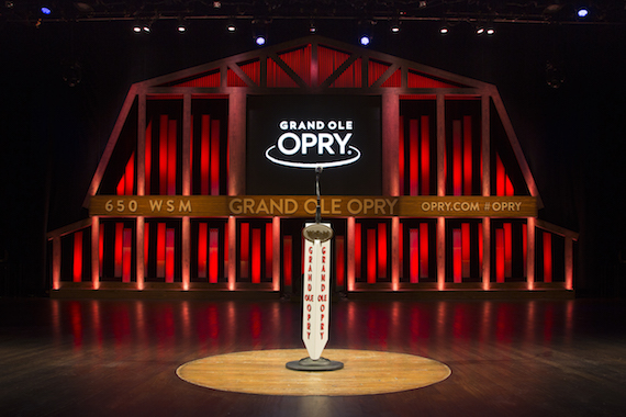 Grand Ole Opry stage. Photo: grandoleopry.com