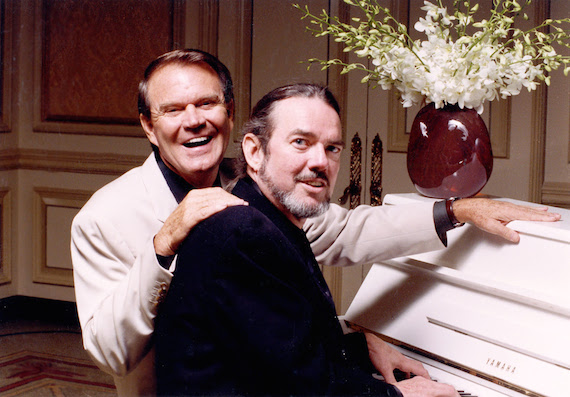 Left to Right: Glen Campbell, Jimmy Webb Credit: ©2000 Sandra Gillard/Lightkeepers