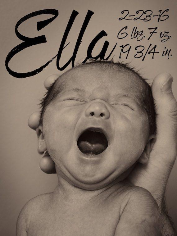 Carla Wallace baby