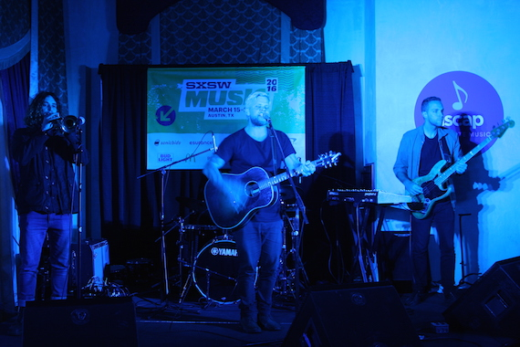 Matt Gresham at ASCAP Presents at The Driskill