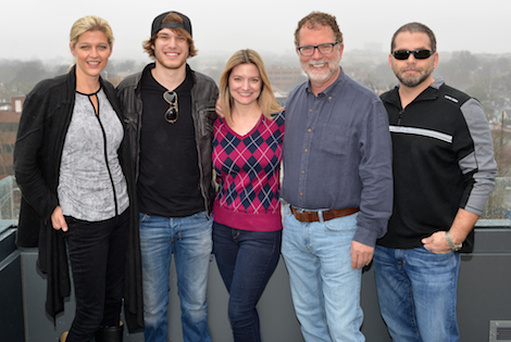 Pictured (L-R: SESAC's Shannan Hatch, Tyler, Music Knox's Shalacy Griffin, SESAC's Dennis Lord and peermusic/Music Knox's Michael Knox. Photo: Peyton Hoge