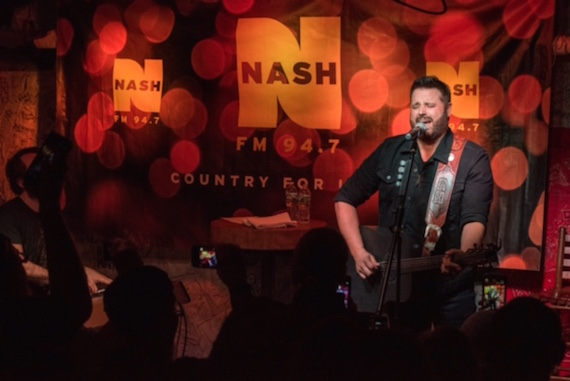 Randy Houser performs for NASH FM 94.7