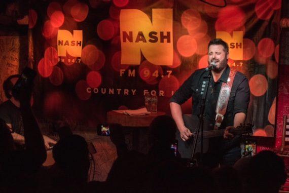 Randy Houser performs for NASH FM 94.7