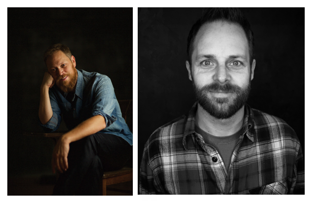 Pictured (L-R): Andrew Peterson, Chris J. Wall.