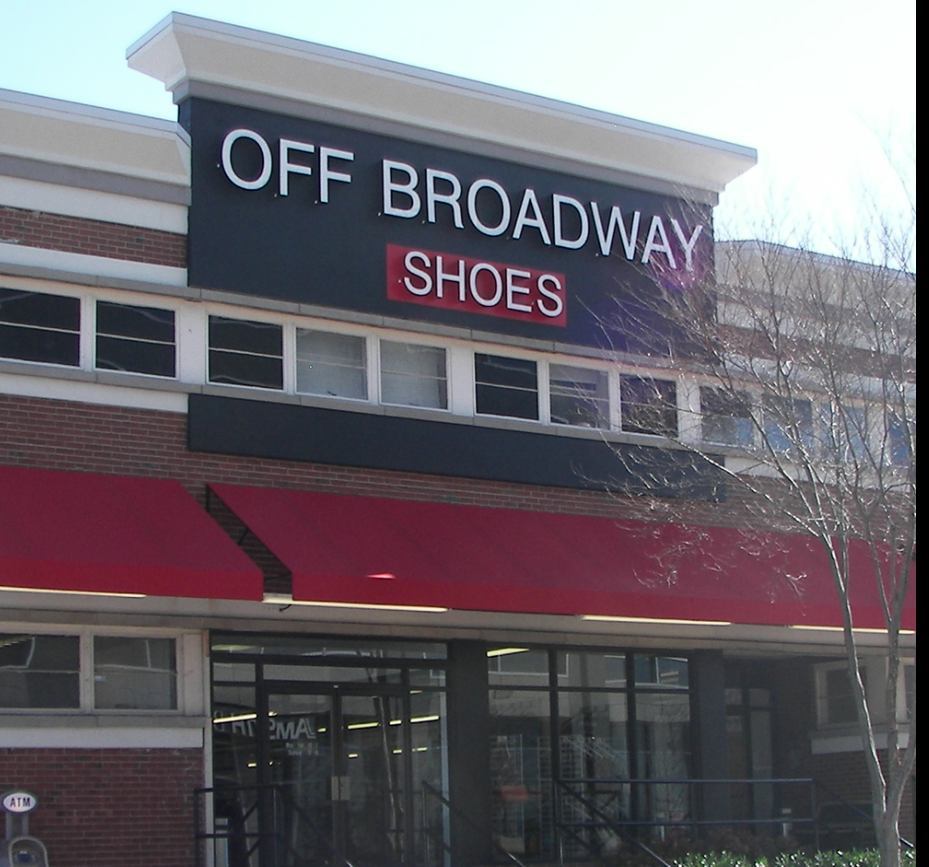 Off Broadway Shoes. Photo: Google Maps