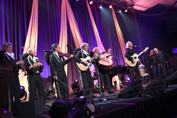 Joe Walsh peforms at the T.J. Martell Foundation 8th Annual Nashville Honors Gala at the Omni Nashville Hotel on February 29, 2016 in Nashville, Tennessee. (Photo: Rick Diamond/Getty Images for T.J. Martell)