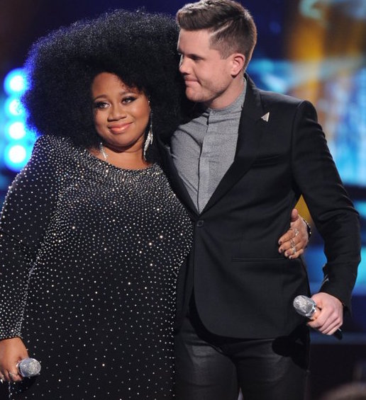 La' Porsha Renae and Trent Harmon. Photo: American Idol