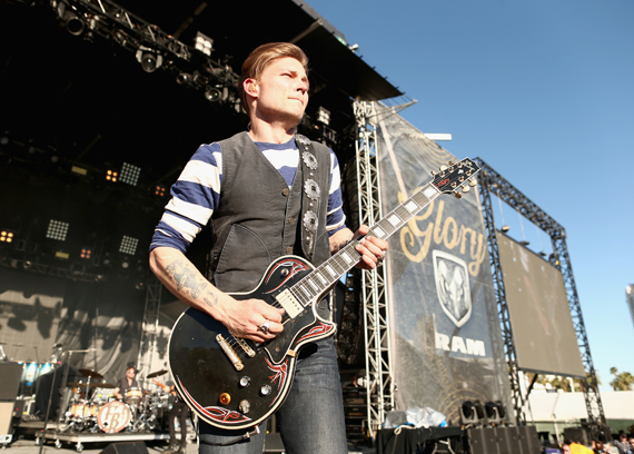 """""""LAS VEGAS, NEVADA - APRIL 02: Singer Frankie Ballard performs onstage at the 4th ACM Party for a Cause Festival at the Las Vegas Festival Grounds on April 2, 2016 in Las Vegas, Nevada. (Photo by Christopher Polk/Getty Images for ACM)"""""""