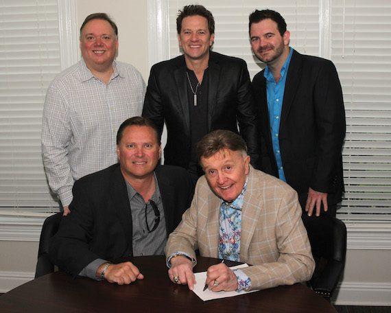 Pictured (L-R): Kirt Webster, Bob Kinkead, Gregory Scott, Bill Anderson, Lee Willard