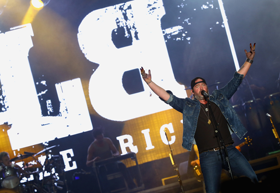"""""""LAS VEGAS, NEVADA - APRIL 02: Singer Lee Brice performs onstage at the 4th ACM Party for a Cause Festival at the Las Vegas Festival Grounds on April 2, 2016 in Las Vegas, Nevada. (Photo by Mark Davis/Getty Images for ACM)"""""""