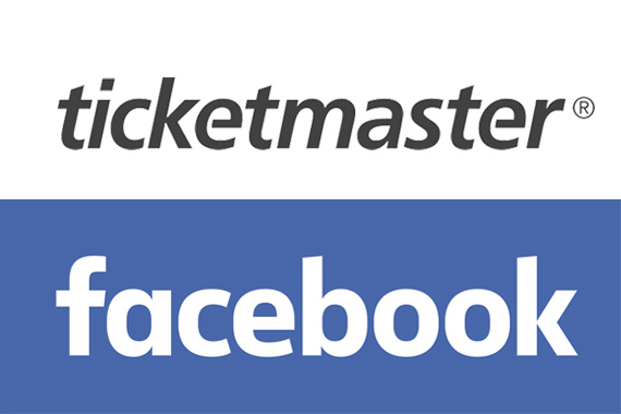 TicketmasterFacebook