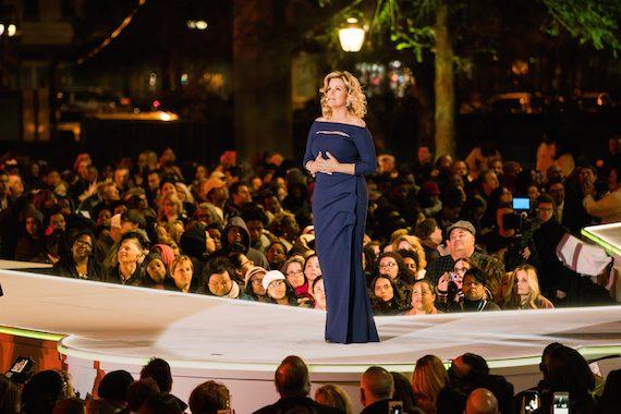 "Trisha Yearwood performs ""Broken"" as part of FOX's The Passion. Photo: Ben Krebs"