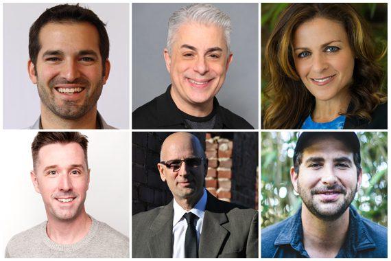 Pictured (Top Row, L-R): Jeff Cuellar, Jim Donio, Ali Harnell; (Bottom Row, L-R): Jeremy Holley, David M. Ross, MIchael Weintraub
