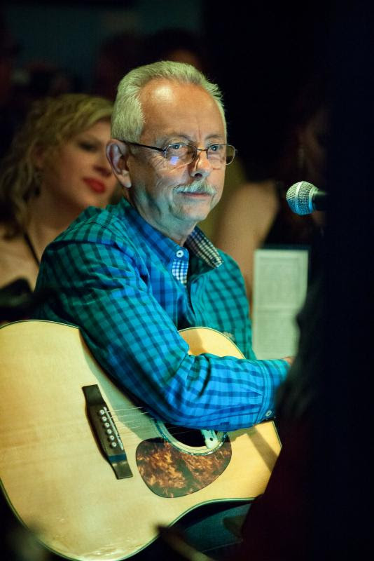 Hit producer and songwriter Buddy Cannon at The Bluebird Cafe CMA Songwriters Series early show.