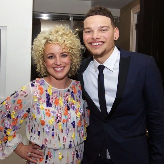 Pictured (L-R): Arista Nashville/RCA Records' Cam and RCA Nashville's Kane Brown. Photo: Meishach Moore