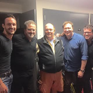 Pictured (L-R): Drew Baldridge, Bob DiPiero, Mario Batali, Tim Nichols, Lee Miller