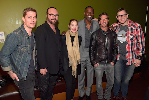 "Pictured (L-R): Singer-songwriter Rob Thomas, musician Desmond Child, singer Suzanne Vega, singer-songwriter Brian McKnight, songwriters Brett James and Kevin Kadish attend the 2016 ASCAP ""I Create Music"" EXPO. Photo: Lester Cohen/Getty Images for ASCAP"